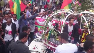 Amhara press team welcome @ addis