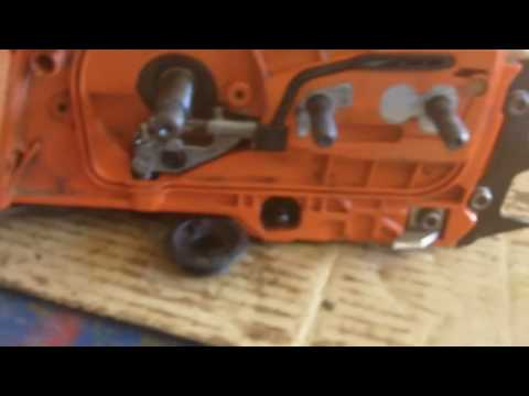 Husqvarna Rancher 455 Chain Oiler Repair