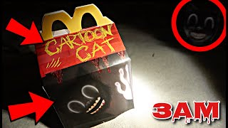 DO NOT ORDER CARTOON CAT HAPPY MEAL AT 3AM!! *OMG HE ACTUALLY CAME TO MY HOUSE*