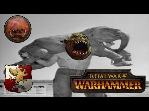 Total War Warhammer Live BattleCast #116: Greenskins & Empire - GREEN & LEAN