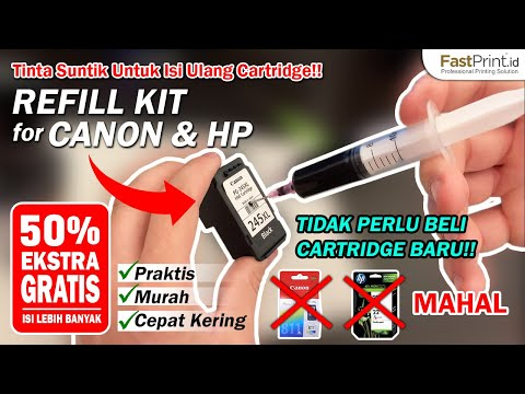 How to refill canon mp287 printer.