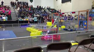 2018 FRC Power Up 5417 Allen Houston Lonestar Central Regional Week 3 Qm-5 qm5 #2018txho