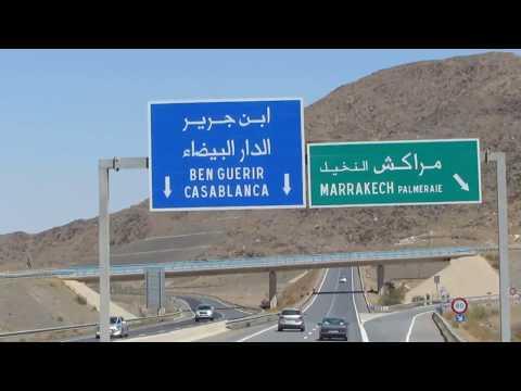 Road Agadir to Casablanca