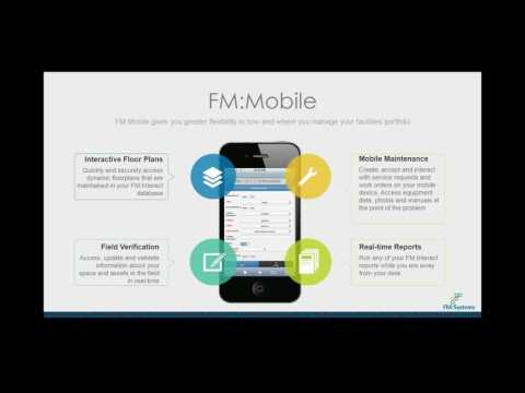 Power Your Facility Maintenance Program with FM:Mobile