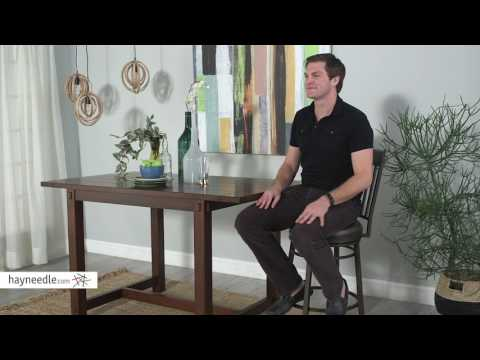 American Heritage Billiards Elliston Bar Height Stool - Product Review Video