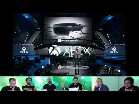 Giant Bomb Talks Over the Microsoft E3 2015 Press Conference