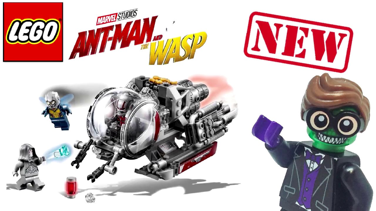 Lego Ant Man and The W...