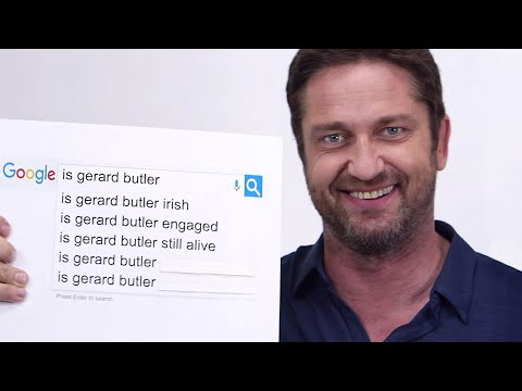 Gerard Butler Answers The Web's Most Searched Questions   WIRED
