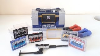 Video Transformers Hasbro Masterpiece Soundwave Toys 'R' Us Exclusive (MP-13, MP-15 and MP-16) download MP3, 3GP, MP4, WEBM, AVI, FLV Agustus 2018