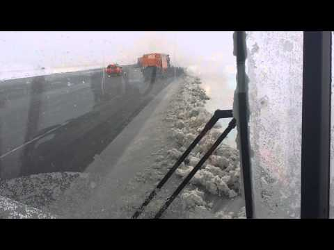 Thumbnail: Ride-along, Runway/Taxiway Snow Removal - Toronto Pearson Airport (YYZ) 12 March 2014