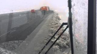 Ride-along, Runway/Taxiway Snow Removal - Toronto Pearson Airport (YYZ) 12 March 2014