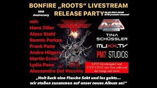 BONFIRE - Roots // Online Release Party w/ Tina Schüssler // AFM Records