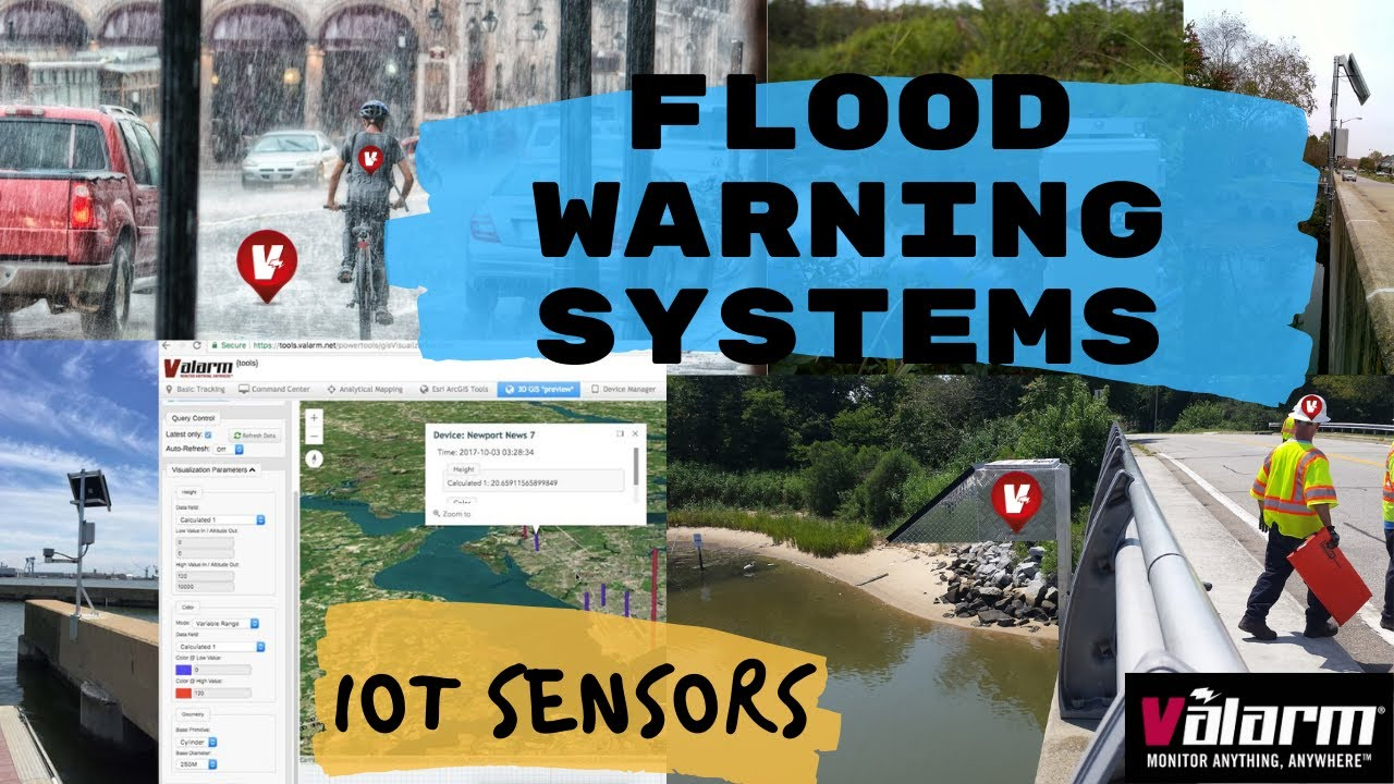 Flood Warning Systems and Water Level Monitoring with IoT Sensors