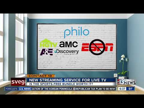 New streaming service for live TV