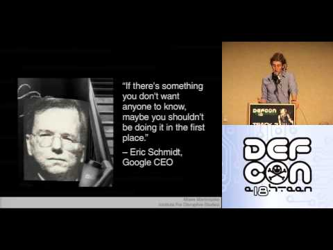 Defcon 18   Changing threats to privacy   Moxie Marlinspike   Part