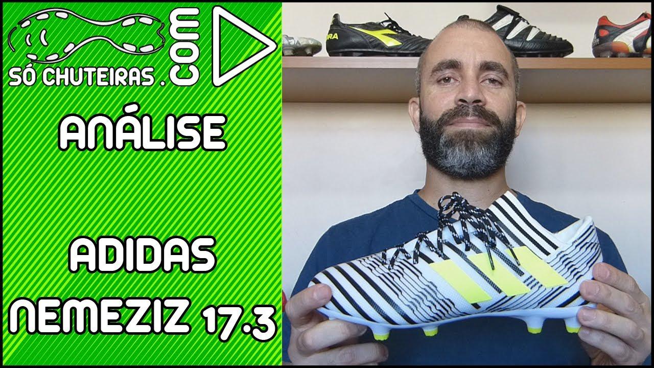Chuteira Adidas Nemeziz 17.3 FG