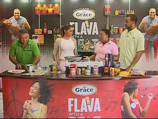 Grace And You Cooking Show - Flying Fish Coucou