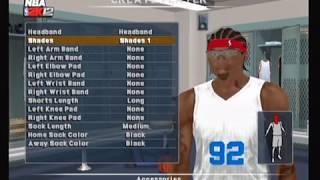 NBA 2K12 Ps2 Create A Player