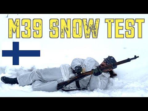 M39 Snow Test in Finland