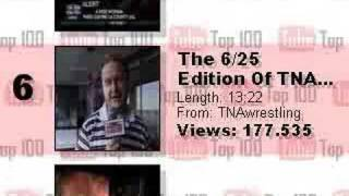 YouTube Top 10 - June 27, 2007