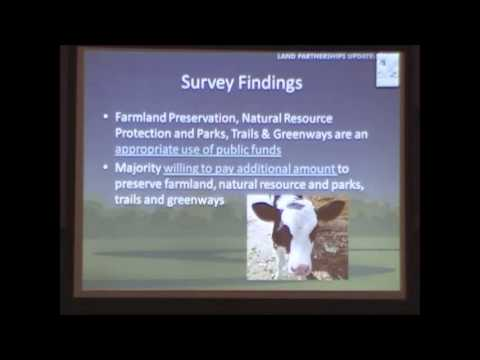 Cumberland County, PA - Planning Department: 2012 Land Partnerships Update
