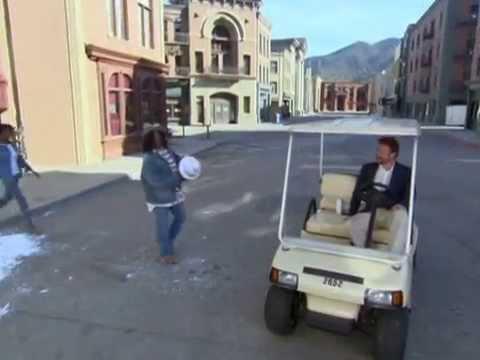 Whoopi Goldberg on New York Street Universal Studios Hollywood