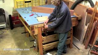 1 Of 47 • how To Make The Ultimate Work Table • a Woodworking Project