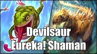 [Hearthstone] Devilsaur Eureka! Shaman