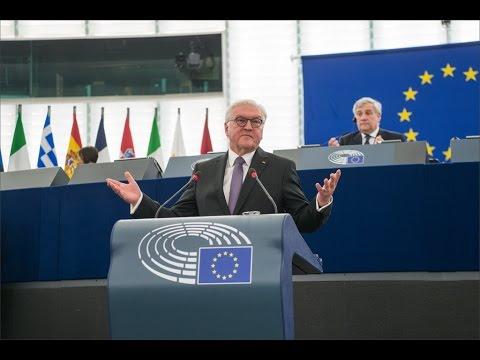 German president Steinmeier's speech at the EU Parliament