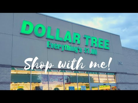 Dollar Tree Walkthrough/come Shop With Me At Dollar Tree!