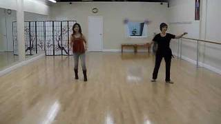 Lets Shake It - line dance (dance & walk through)