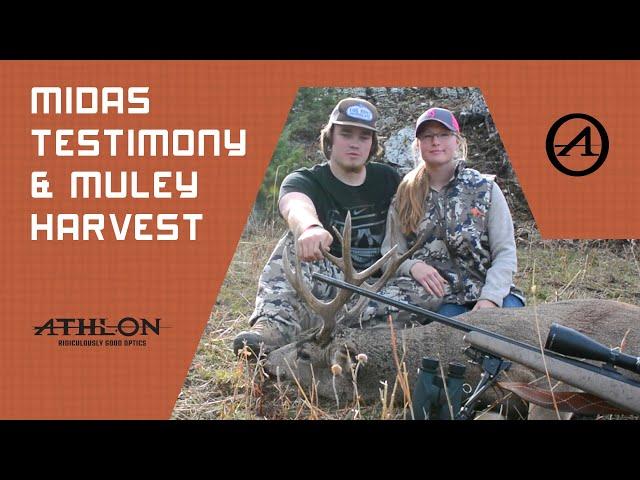 Athlon Optics Midas Testimony & Muley Harvest - Truly Montana Outdoors