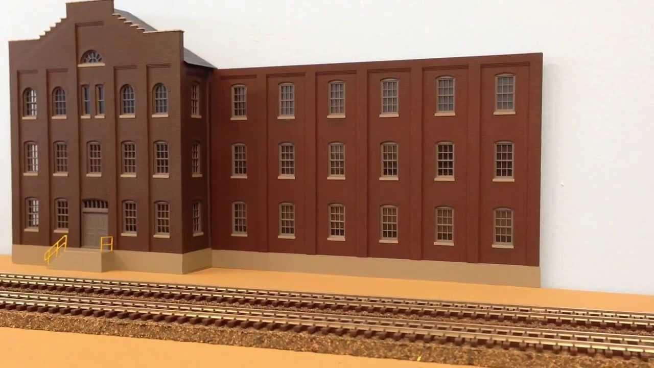 Walthers Cornerstone Plant No4 Background Building Part