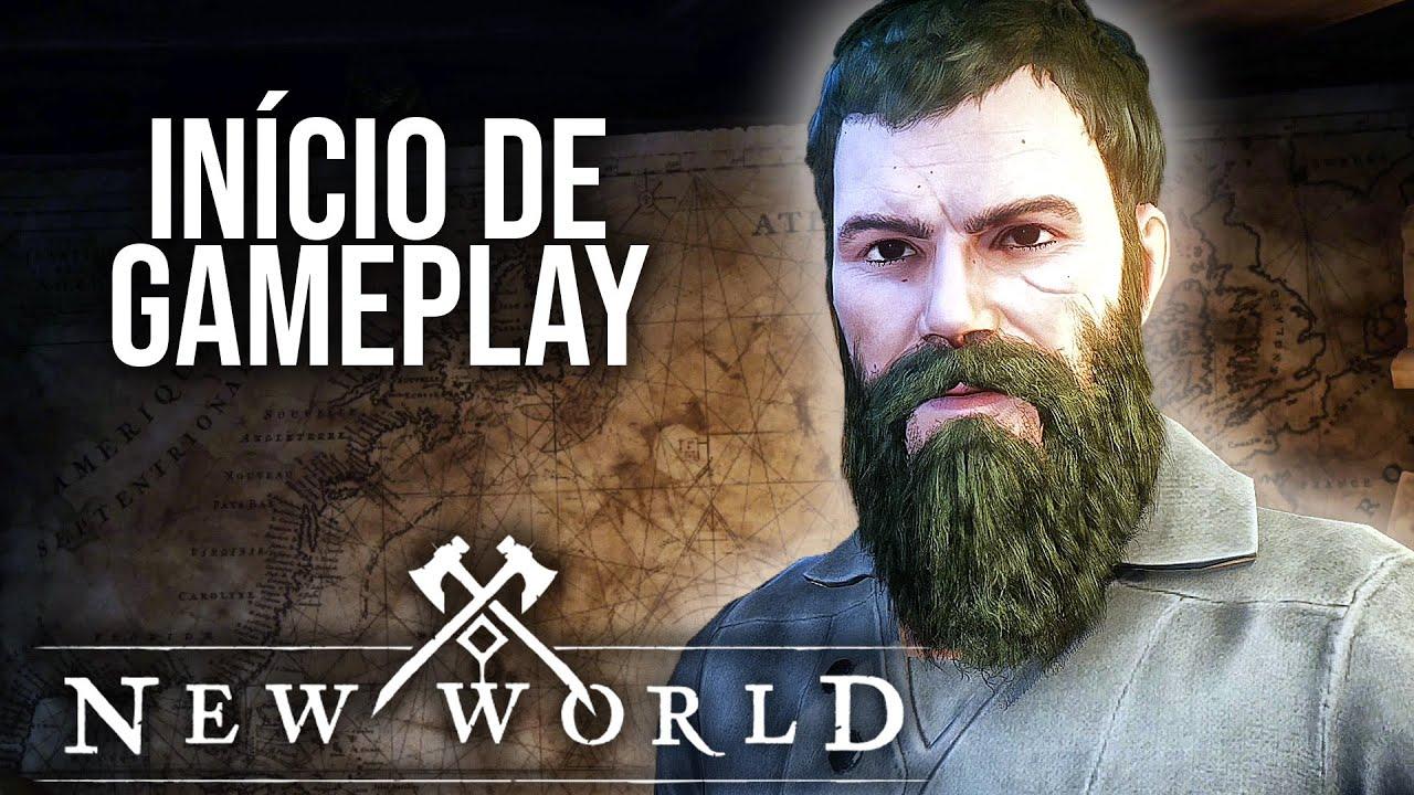 NEW WORLD - MMORPG da Amazon!   O Início de Gameplay, em Português PT-BR