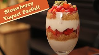 Strawberry Yogurt Parfait  How To Make Parafait