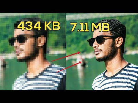 Picsart new trick |How to change low quality image into high quality in picsat |full hd in picsart