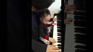 피아니스트 고모와 3살 조카가 노는 법💚(feat.띠띠뽀 띠띠뽀)