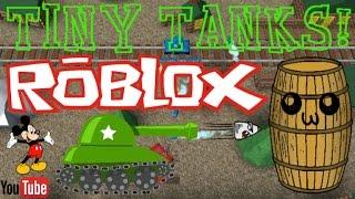 ROBLOX Tiny Tanks! - Gameplay/CRUSH, KILL, DESTROY!