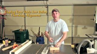 Easily Align Table Saw Blade To 90