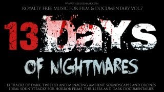 Royalty Free Horror Music by Simon Wilkinson: 13 Days Of Nightmares
