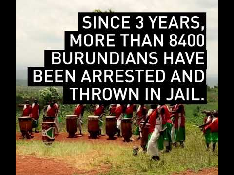 Burundi : put your hands up in the air !