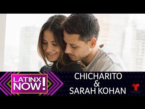 La historia de amor de Javier Hernández y Sarah Kohan | Latinx Now! | Entretenimiento