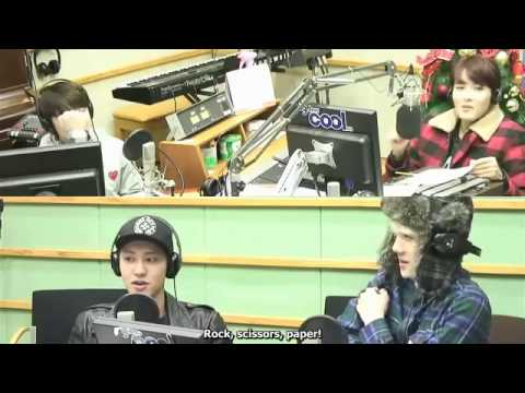 ENG SUB 140110 EXO DO Chanyeol Sehun SPEED QUIZ with ANSWERS   360p