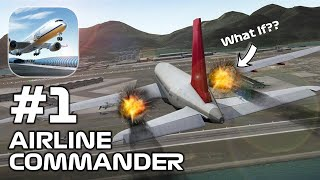 Airline Commander - SUPER REAL SIM EXPERIENCE Gameplay Walkthrough (iOS, Android)