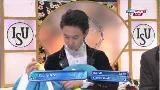 Denis TEN (KAZ) SP - 4CC 2013