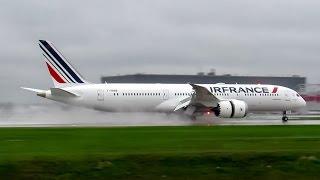 *INAUGURAL* Air France 787-9 Dreamliner (B789) landing & departing Montreal (YUL/CYUL)