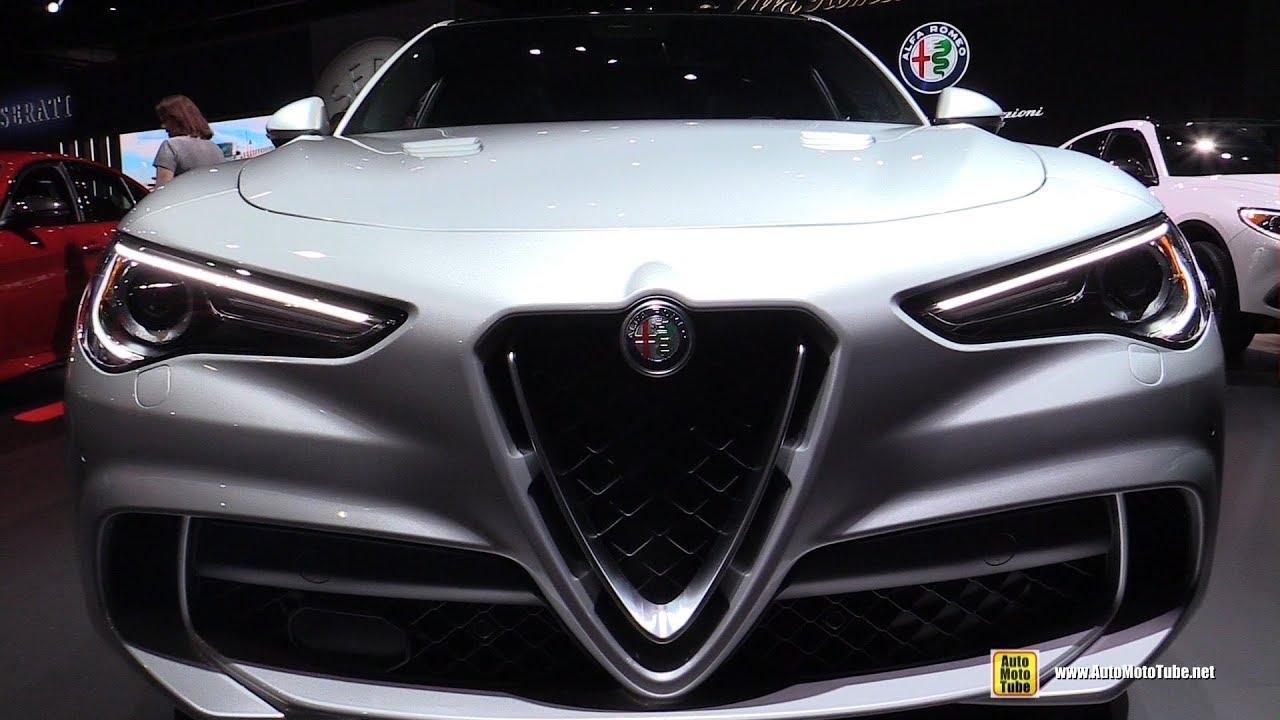 2019 Alfa Romeo Stelvio Quadrifoglio Exterior And Interior