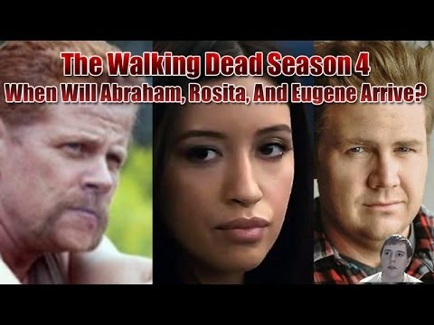 The Walking Dead Season 4 When Will We See Abraham Rosita And Eugene