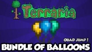 Terraria 1.2 - Bundle of Balloons (Quadruple Jump) (New Terraria 1.2 Items)
