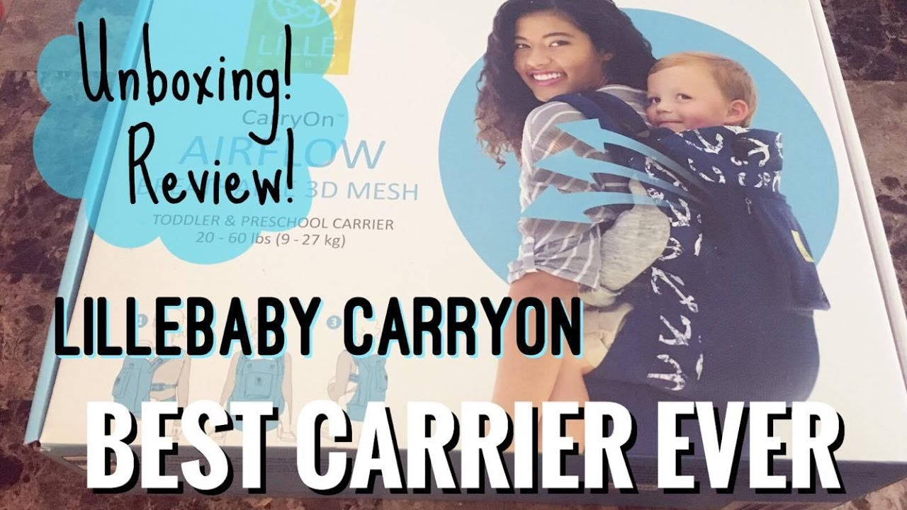 Lillebaby Carryon Unboxing Review Airflow Spot On
